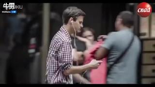 【公益广告】瑞士震撼公益广告:过马路分心玩手机惨烈车祸