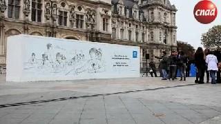 【公益广告】PLAN公益:可以擦的广告牌