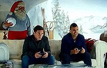 EA圣诞节广告 请来阿根廷双子星梅西阿圭罗