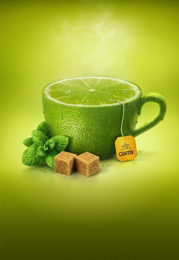 Curtis美味水果水壶创意广告 为平淡无奇的生活增添情趣