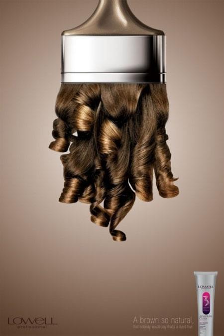 LOWELL染发剂系列创意广告