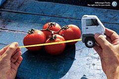 大众卡车创意广告设计欣赏