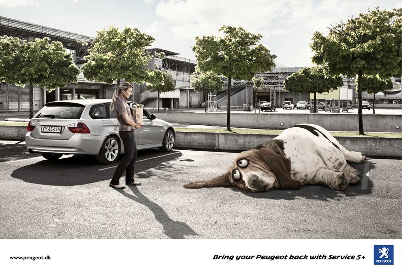 雪铁龙汽车创意广告