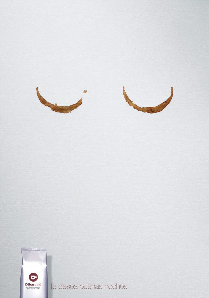 Dibarcafé咖啡创意广告