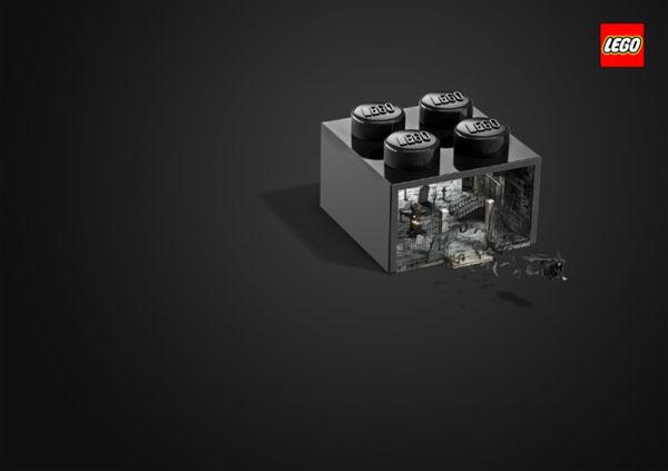LEGO乐高积木创意广告