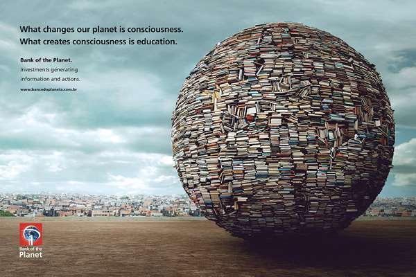 亚马逊星球银行创意广告再生能源