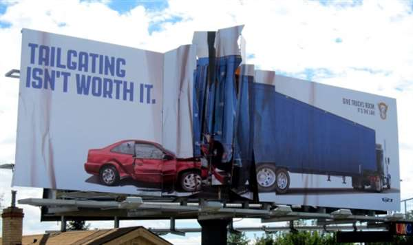 国外创意户外广告