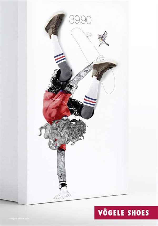 国外品牌女鞋广告