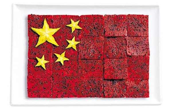 中国:火龙果,杨桃
