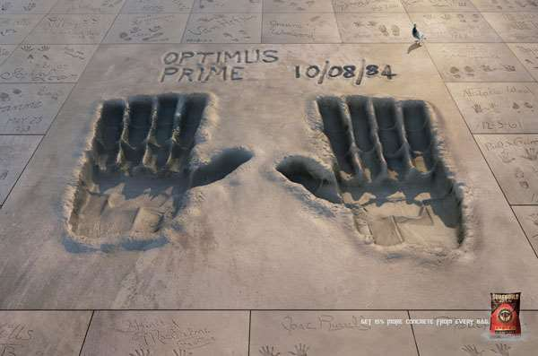 PPC水泥创意广告欣赏