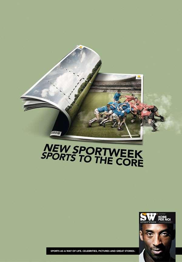 米兰体育报广告欣赏