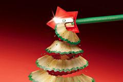 国外文具品牌精彩圣诞创意广告