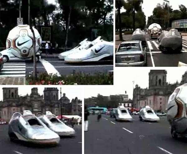 Nike Cars广告