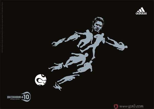 Adidas足球主题广告创意欣赏