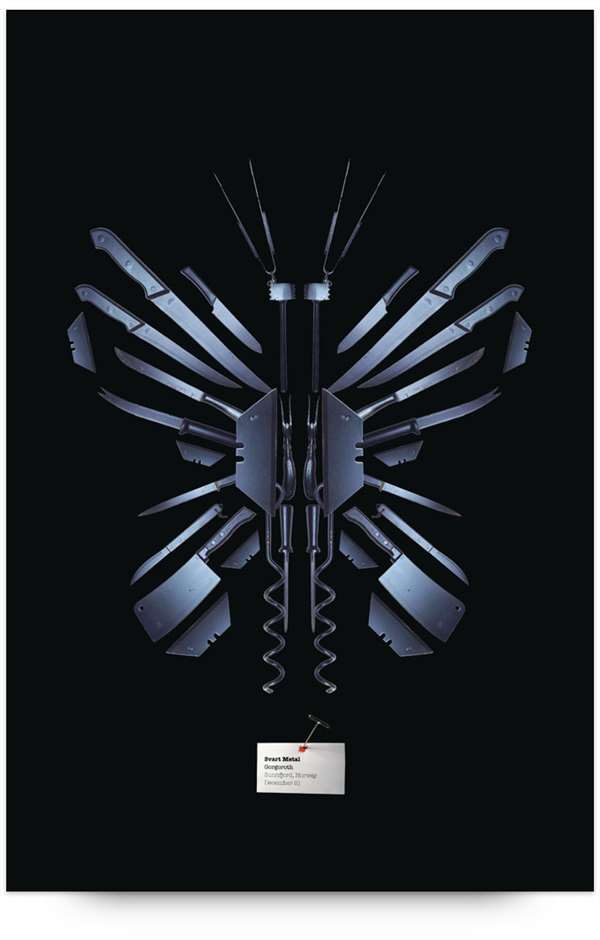 创意刀具广告欣赏
