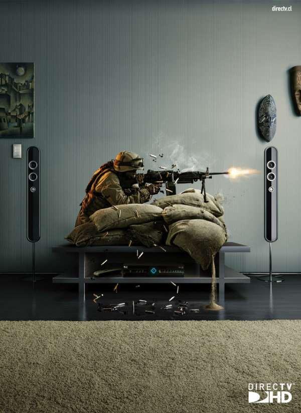 HD高清电视创意广告