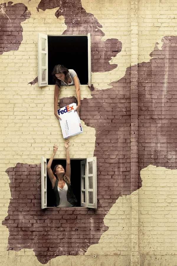 FedEx广告创意