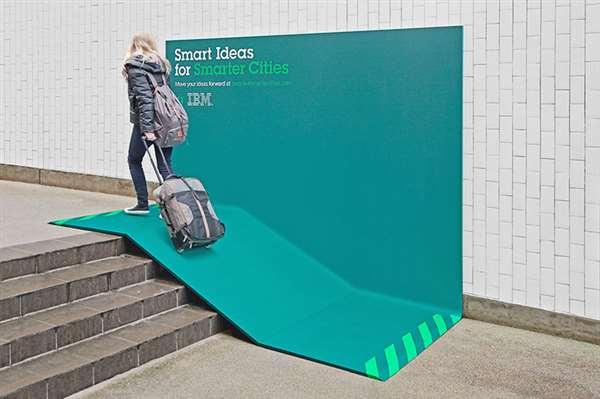 IBM户外广告牌