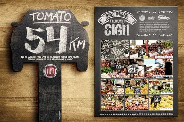 菲亚特西红柿广告创意