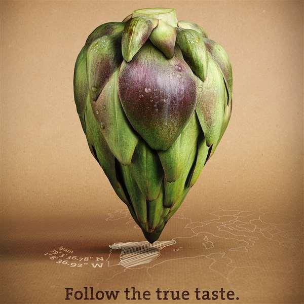 Followfish披萨广告:Follow the ture taste