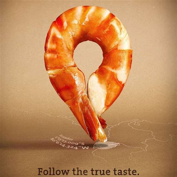 Followfish披萨广告创意