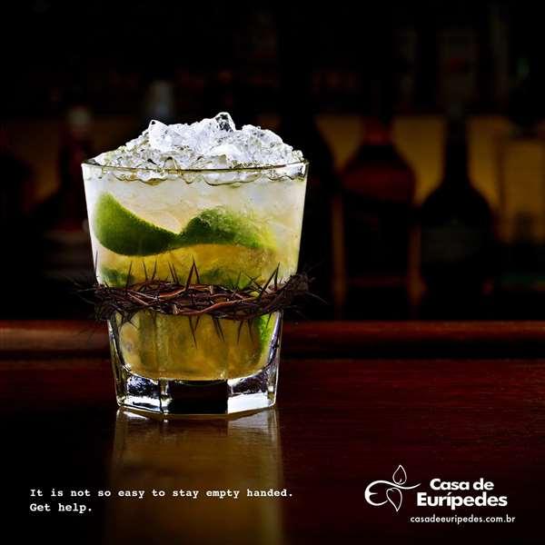 Casa de Euripedes戒酒广告