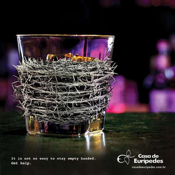 康复中心戒酒广告:让他们空手而归