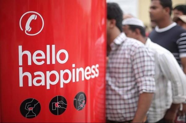 可口可乐暖心写实风格广告《你好,幸福》