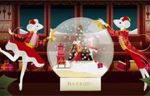 英国harrods百货圣诞节广告活动 冒失的小老鼠