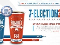 "7-Eleven""预测咖啡""平面广告"