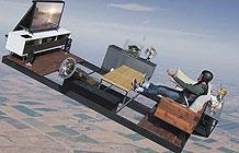Nvidia广告 高空坠落还能玩游戏-Nvidia原本是一家显卡厂商,最近这两年开始做家庭娱乐设备,今日他们推出了SHIELD家庭娱乐盒子,他们找来跳伞运动员Jeff Provenzano,让他坐在沙发上,接着整个沙发连同客厅从万米高