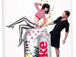 最新可口可乐健怡创意平面广告